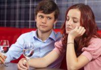 Ilustrasi wanita bosan dengan pacarnya